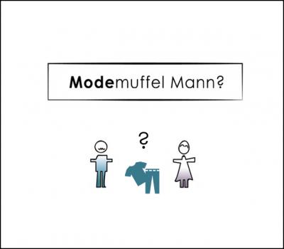 Modemuffel Mann